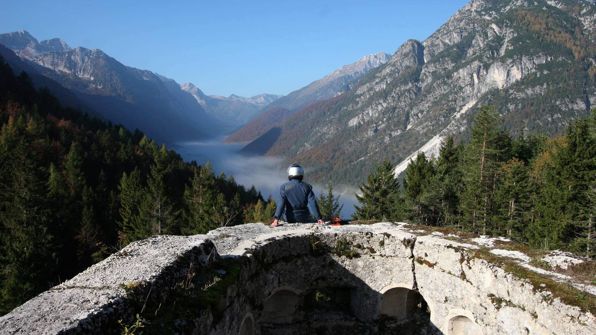 Der Predilpass verbindet Tarvis in Italien mit Bovec in Slowenien