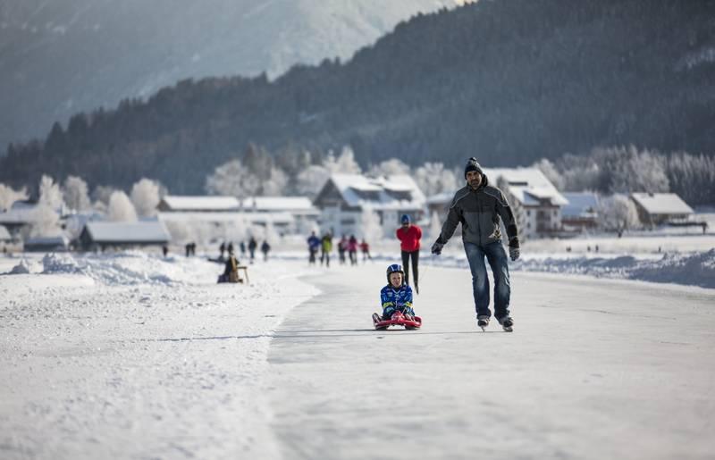 Geschmack der Kindheit - Eislaufen