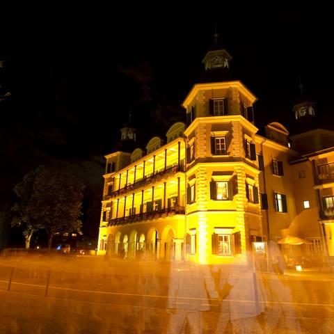 Schloss Velden bei Nacht
