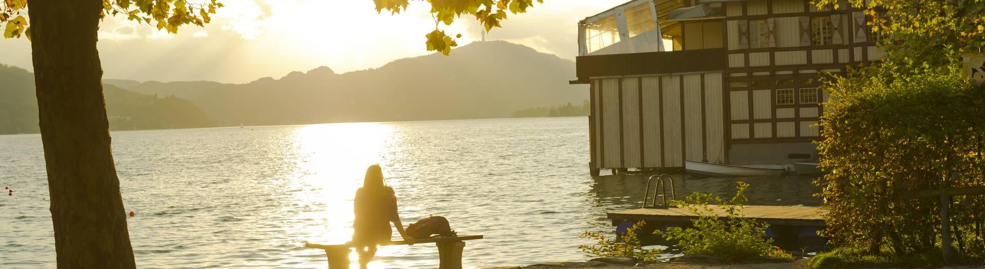 Herbst in Klagenfurt am See
