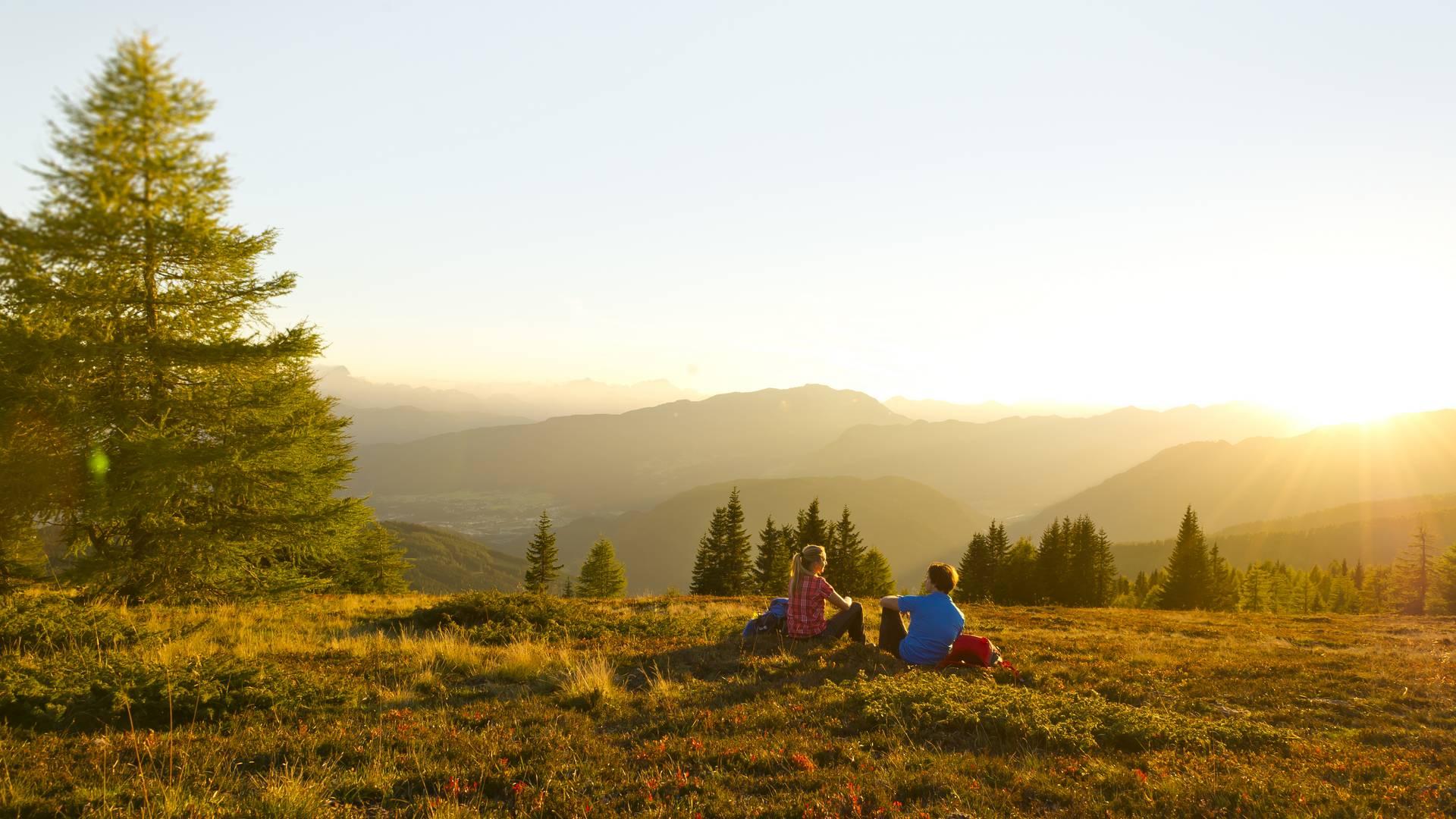 Rast auf der Gerlitzen Alpe – Alpe Adria Trail