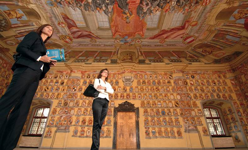 <p>Wappensaal</p>