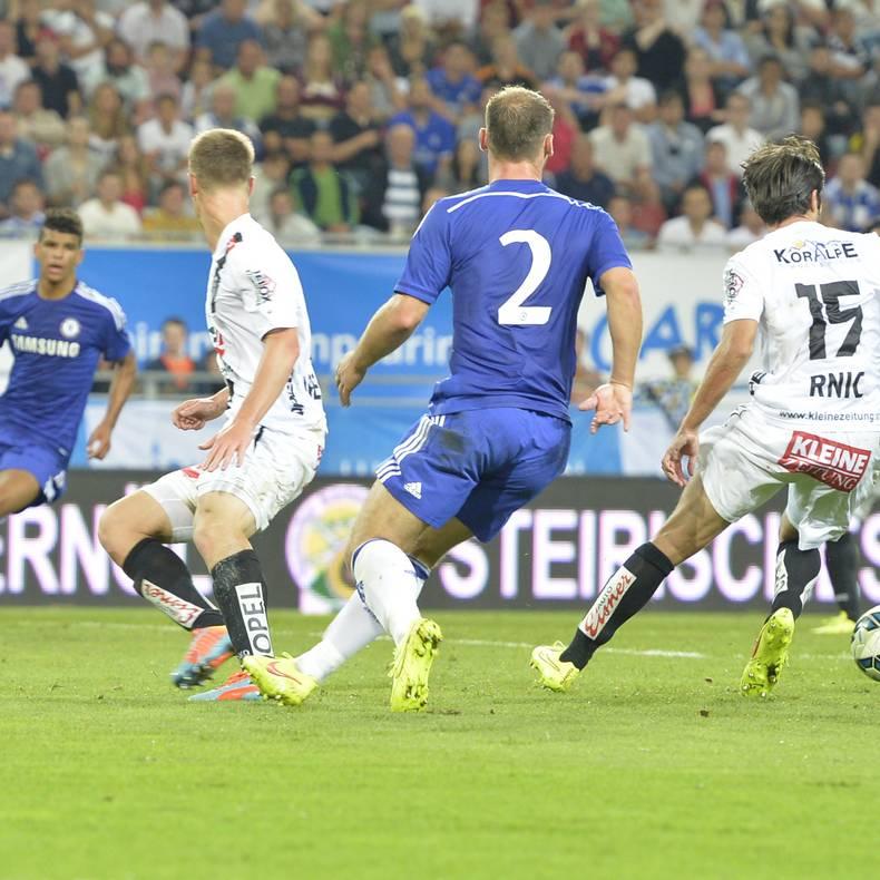 Fussball Trainingslager in Kärnten FC WAC - FC Chelsea