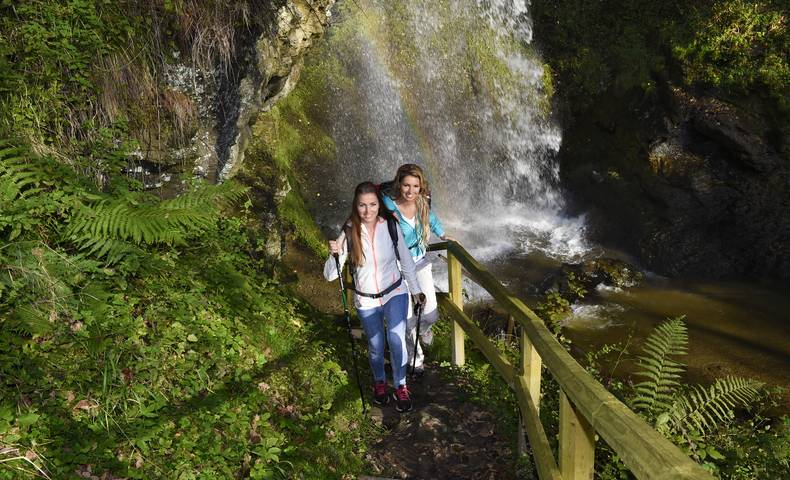 <p>Sörger Wasserfall, Mittelkärnten</p>