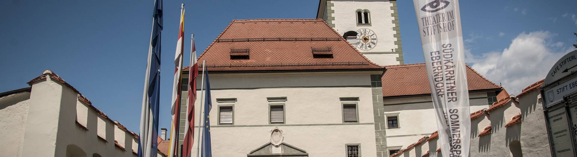 Stift Eberndorf in Eberndorf in Südkärnten Klopeiner See