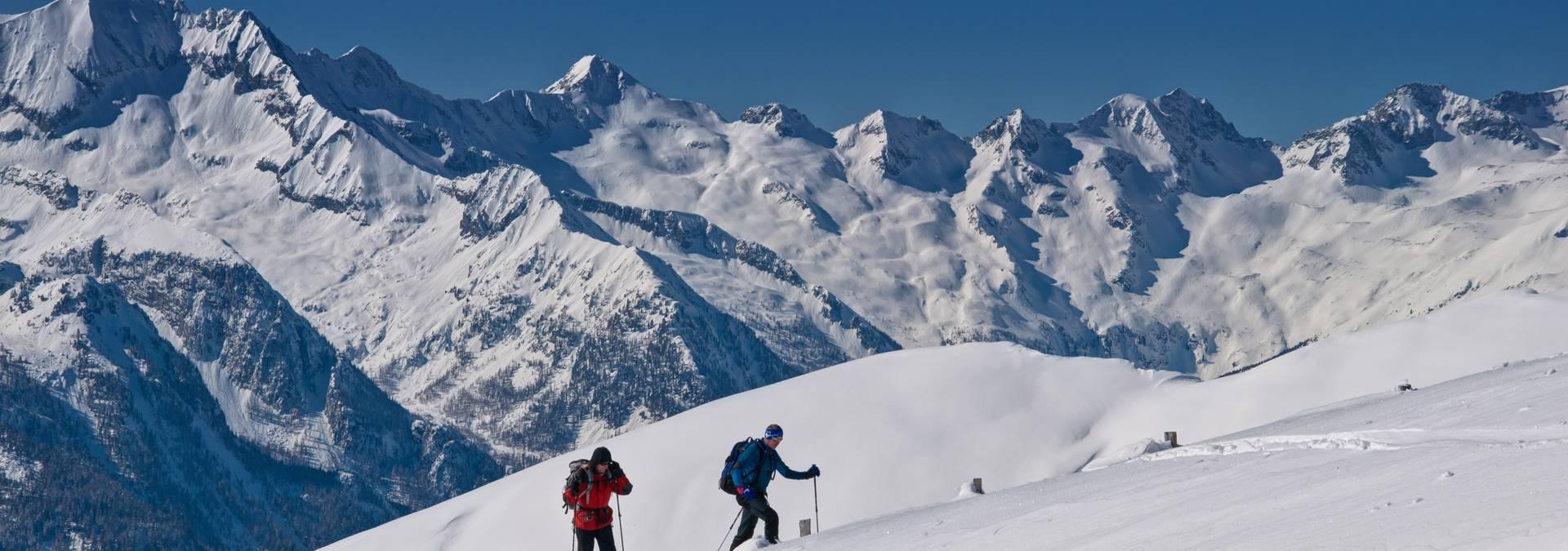 Skitour am Stubeck im Lieser-/Maltatal