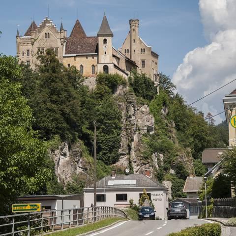 Schloss Eberstein in Mittelkärnten