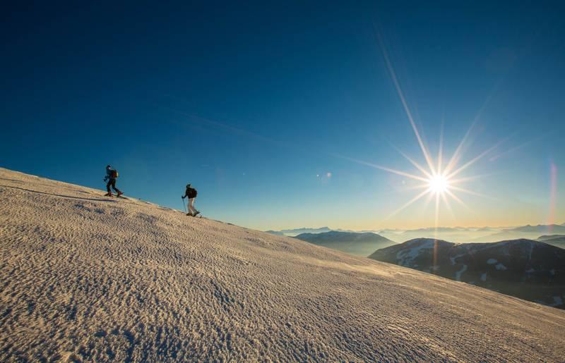 Skitourengenuss am Falkert