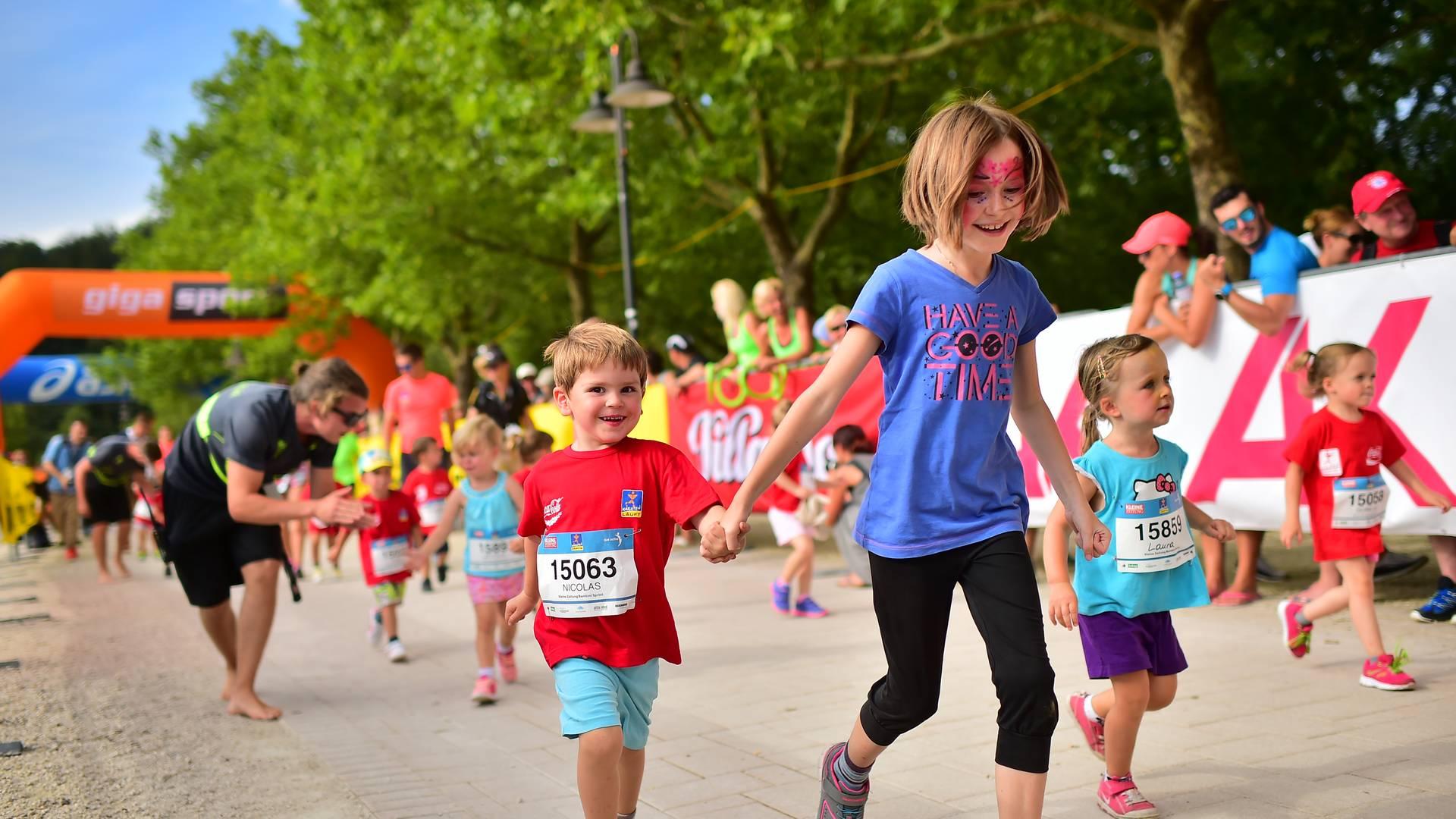Kärnten läuft Kinderlauf