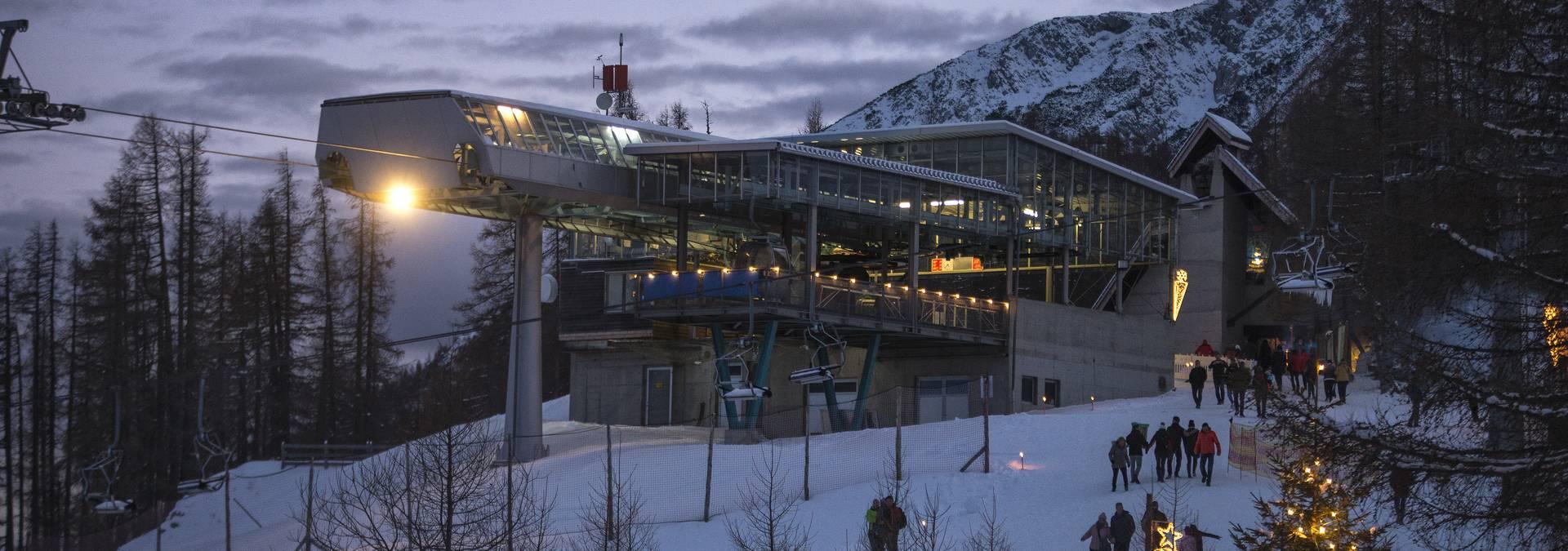 Bergstation Petzen - Adventmarkt
