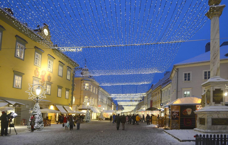 Advent Klagenfurt Lichter
